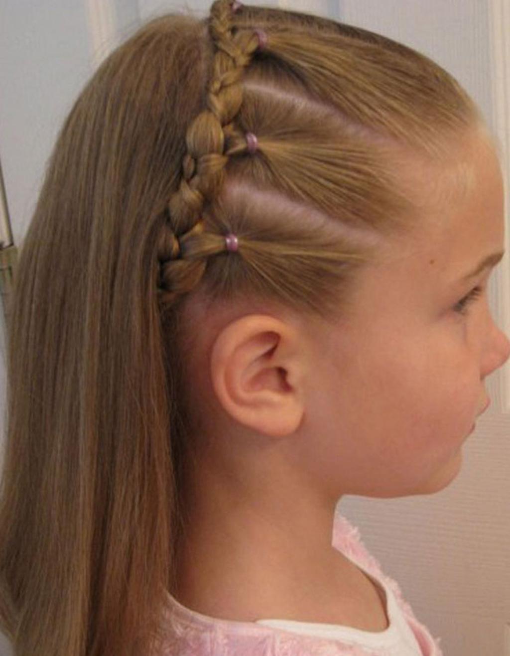 Детские причёски своими руками фото